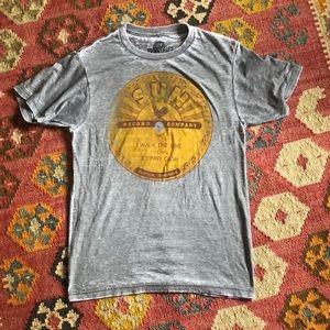 Sun Records Johnny Cash Burnout T-shirt